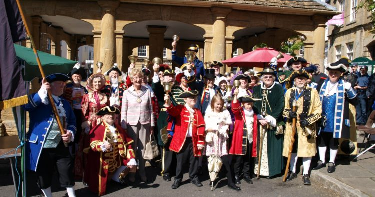 Town Criers - Ilminster, Somerset Day 2019